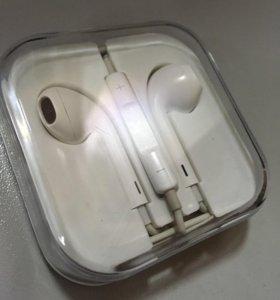 earpods для iphone 7 с lightning разъемом оригинал
