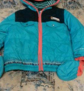 Утепленная курточка размер 86 catimini