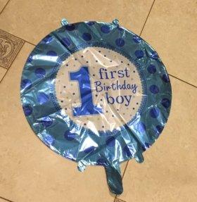 Воздушный шарик новый на 1 год