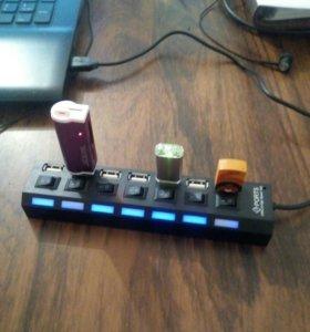 USB на 7 выходов