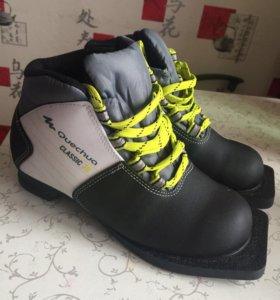 Лыжные ботинки 34р-р