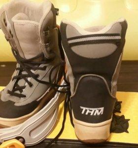 Ботинки+крепления для сноуборда