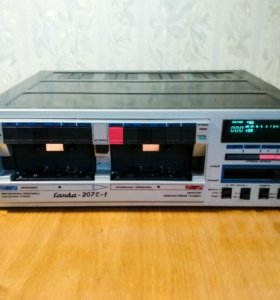 Магнитофон кассетный Санда 207С 1