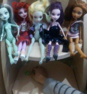 Куклы мостер-хай