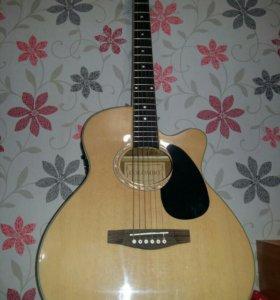 Электроакустическая гитара COLOMBO Lf-401ceq