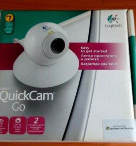 Веб-камера Logitech QuickCam Go