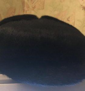 шапка зимняя из нерпы.