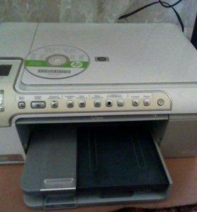 Сканер принтер HP Photosmart C 5200 series