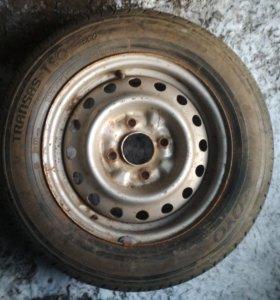 Новая Шина с диском 185/65/R14
