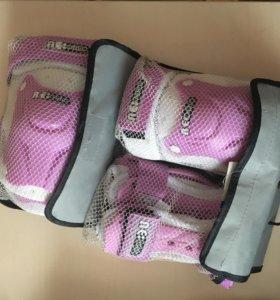 Детская защита на руки и ноги для девочки