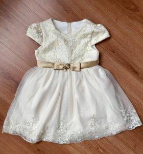 Платье для девочки «Santa&Barbara»