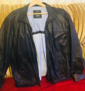 Кожаная куртка фирменная