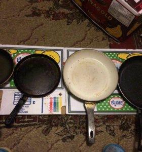 Сковороды в хорошем состоянии😍