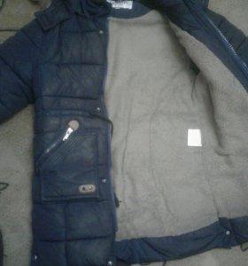 Куртка зимняя,детская с 9 до 11лет.
