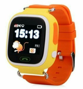 Умные детские трек часы Smart Baby Watch с GPS Q80
