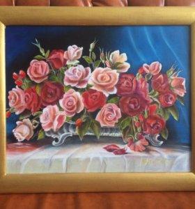 "Картина ,,Розы"""