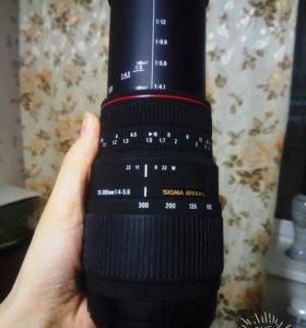 Бюджетный, качественный объектив Sigma 70-300