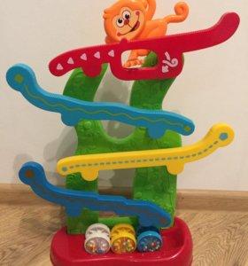 Развивающая игрушка happy monkey