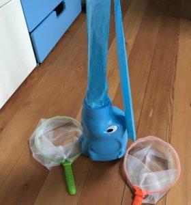 Слоник с бабочками/ игрушка