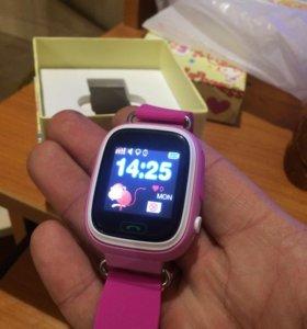 Smart Watch Q90 LBS+GPS+Wi-Fi
