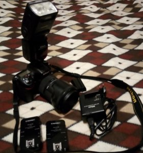 Nikon D7100 kit sigma 18-35mm f1.8 DC+набор