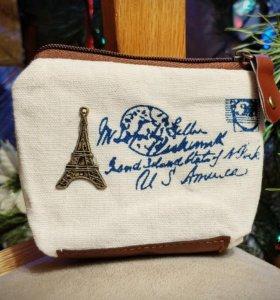 Подарок девушке Кошелёк Париж