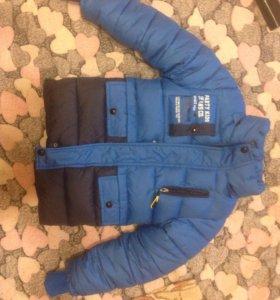 Детская куртка на 3-4года.