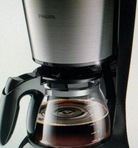 Кофеварка Philips HD7457/20 новая капельного типа