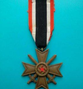 Крест Военных заслуг с мечами 2 Класса. 3 Рейх.