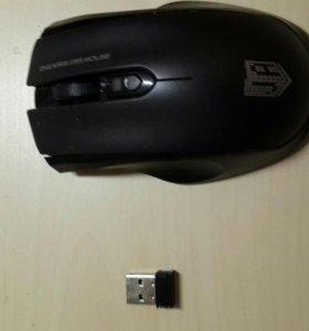 Мышка JET.A,  Наушники Philips и Микрофон Acelin