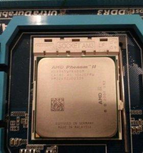 Gigabyte GA-870A-UD3+AMD Phenom II 945 4 ядра