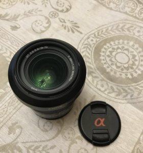 Объектив Sony DT 18-70, F3.5-5.6 А