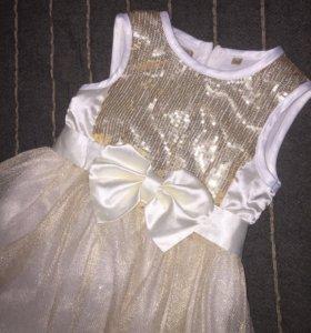 Нарядное платье 110 (104) размер