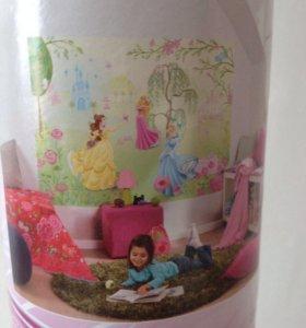 Фотообои для декорации стен детской