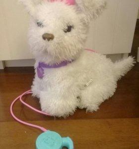 Собака игрушечная