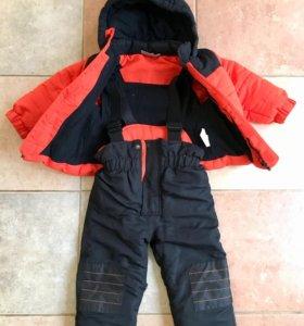 Комплект куртка + комбинезон унисекс 86р.