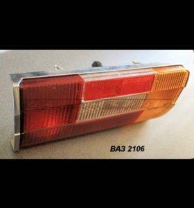 Задние фонари ваз2106