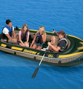 Лодки новые 2-х и 4-х местные .