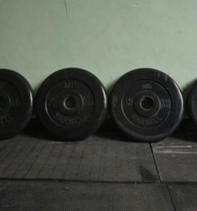 Блины диски олимпийские d51 мв Barbell