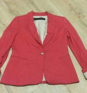 Пиджак трикотажный zara