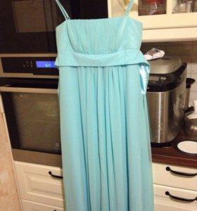 Платье вечернее длинное 44 размер