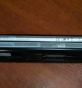 Аккумулятор MSI BTY-S14 б/у рабочая