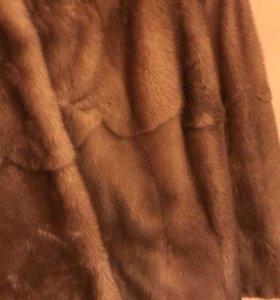 Норковая шуба (торг)