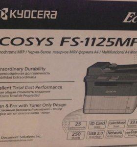 МФУ KYOCERA ECOSYS FS-1125MFP