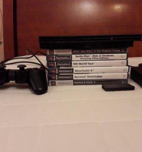 SONY PlayStation 2 с играми