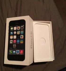 Коробка от iPhone 5s 16