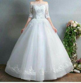 Новое свадеьное платье(салон Невеста)