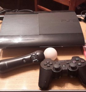 комплект PS3 Super Slim 500 GB