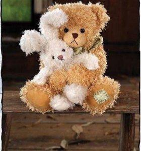 Коллекционный медведь settlers bear