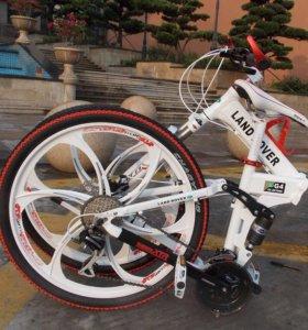 Велосипеды складные на литых дисках
